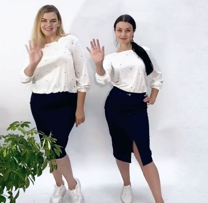 """Dos chicas con diferentes figuras se probaron los mismos """"looks"""" y demostraron que el estilo no depende de la talla Style, Fashion, Apple Shaped Bodies, Curves, Elegant, Women, Swag, Moda, Fashion Styles"""