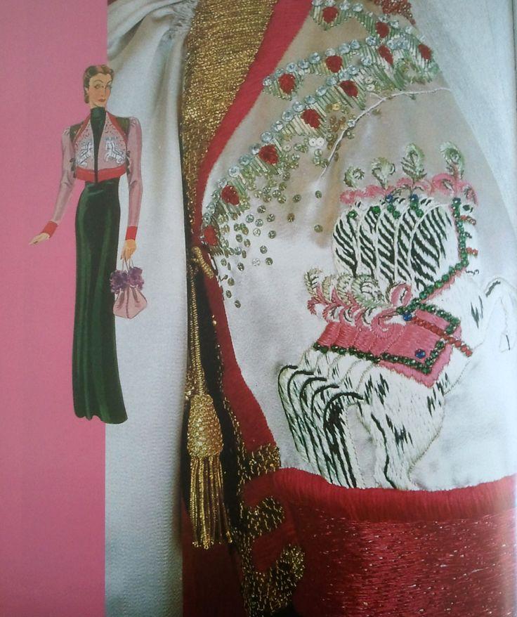 """Collezione circo di Elsa Schiaparelli/ Circus Collection by Elsa Schiaparelli. 1938 Da/From Il Secolo degli stilisti"""" by Charlotte Seeling -2000"""