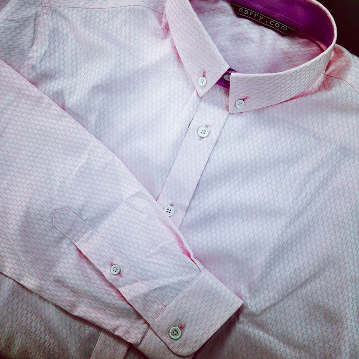 Custom Shirt Button-down by Narry Tailors