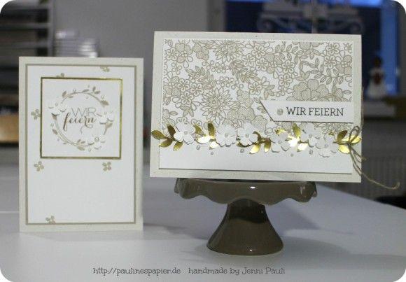 Einladungskarten zur Goldenen Hochzeit!