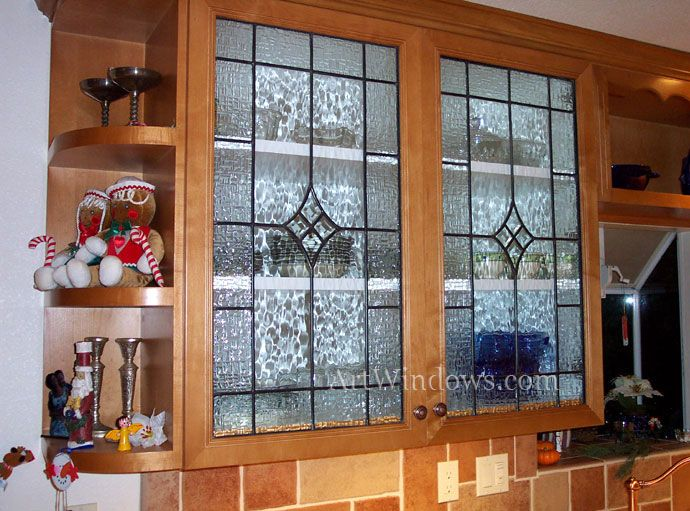 13 Best Images About Glass Kitchen Cabinet Inserts On