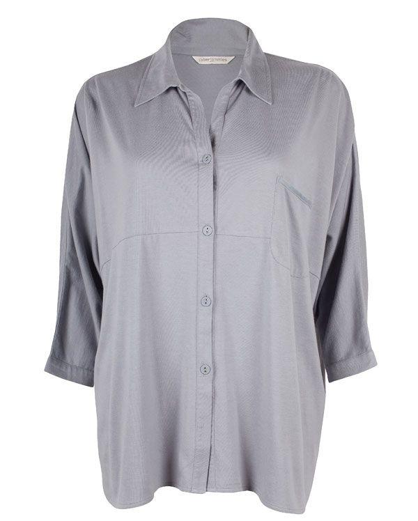 Isabel Knitted 3/4 Length Sleeve Pyjama Top