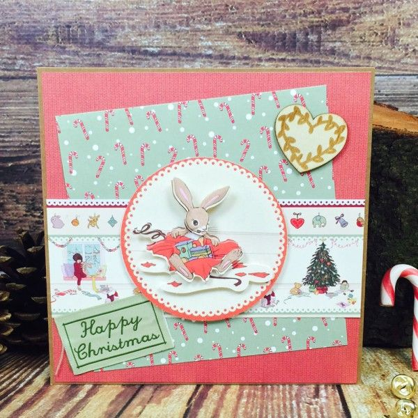 Crafty Belle & Boo Christmas Paper Pack. Let your imagination run free!
