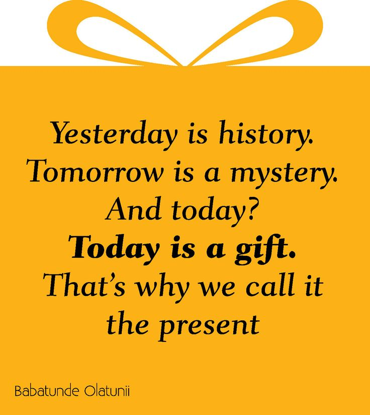 Yesterday Is History Today Is A: 1000+ Images About Quotes On Pinterest
