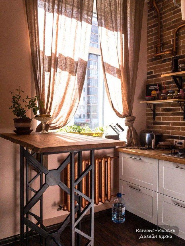 дизайн 5 метровой кухни без верхних шкафов но с посудомойкой