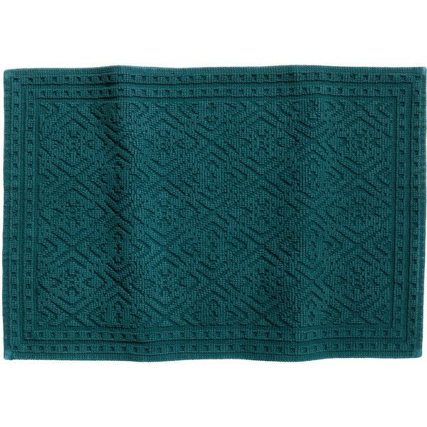 Attractive Jacquard Weave Bath Mat $17.99 (34 BGN) ❤ Liked On Polyvore Featuring Home.  Teal Bath MatsTeal BathroomsBathroom ...