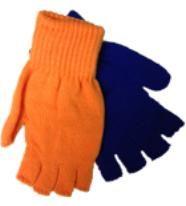 Handschoenen Lampegat. Handschoenen in de Eindhovense carnavalskleuren oranje blauw