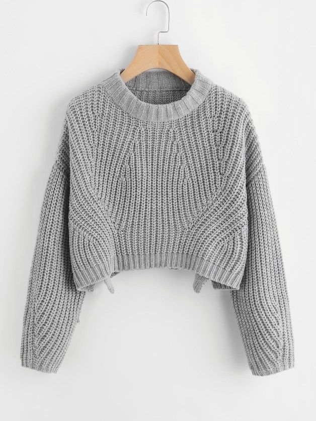 c3ff2ddad4 This top works perfectly for crop top sweater outfits!