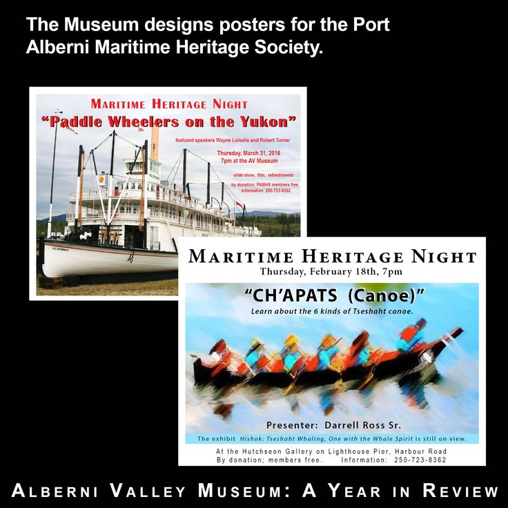 Alberni Valley Museum 2016 Year in Review No. 9
