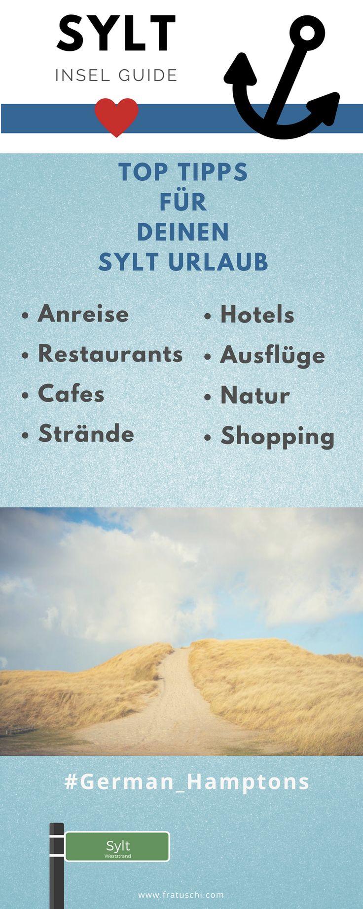 Urlaub in Deutschland an der Nordsee: Meine Top Sylt Tipps