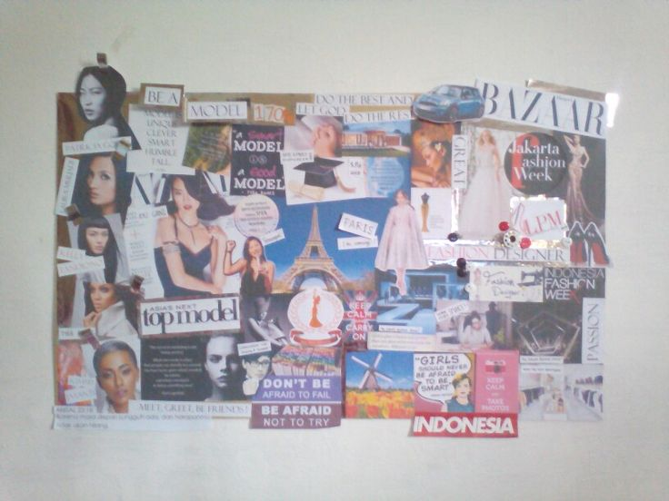 Vision Board by me.. It can be your inspiration too!