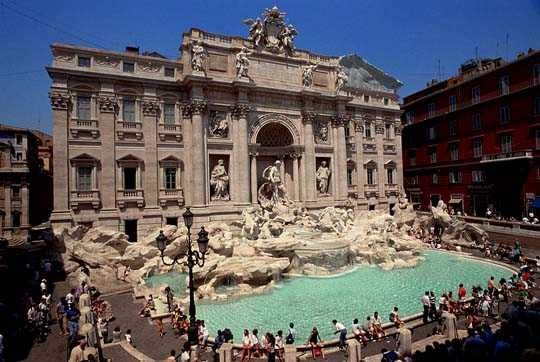 Rome - Trevie Fountain