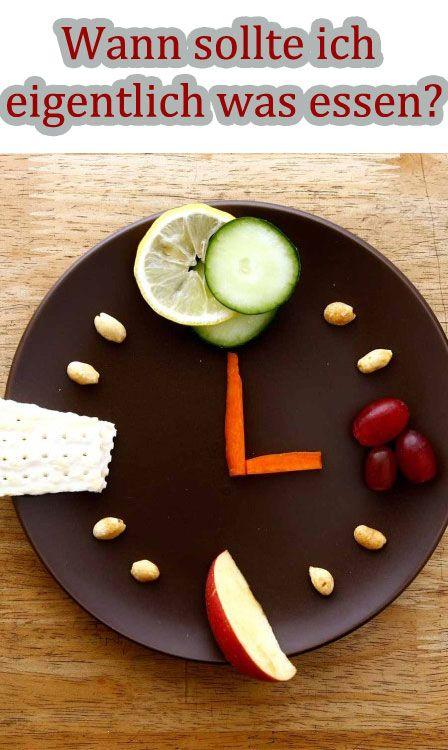Wann wir was essen, beeinflusst unser Wohlbefinden