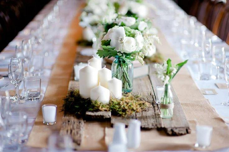 Rustic romantic wedding day