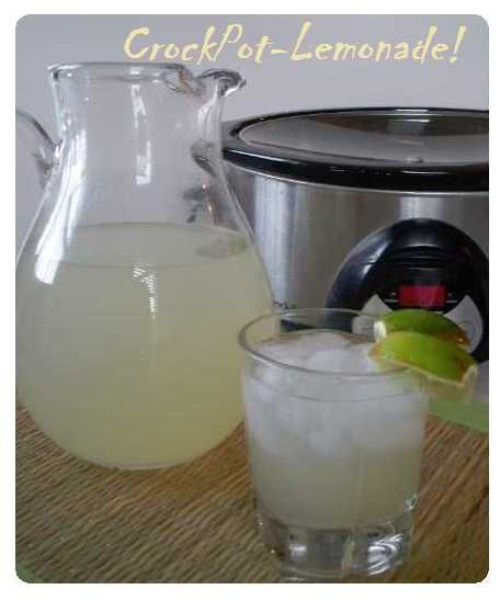 Ummm... I will definitely be doing this, and soon! ------->Crock Pot Lemonade Concentrate ...