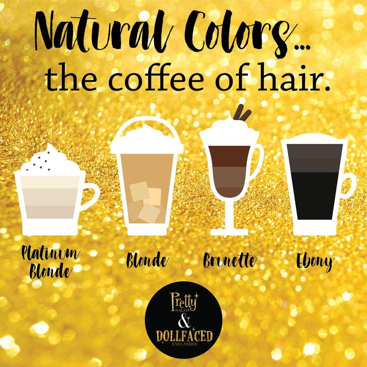 I like your hair a latte! #PrettySalon
