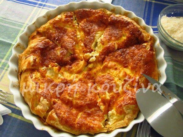 μικρή κουζίνα: Εύκολη τάρτα τυριών