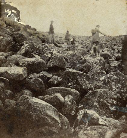 Ploughed Field Mount Wellington