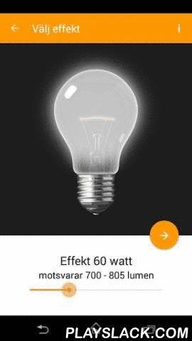 Lampguiden  Android App - playslack.com , Välkommen till LampguidenMed Lampguiden till hands får du hjälp att hitta rätt belysning och tips på belysning för olika rum och olika funktioner. Lampguiden är gratis och fungerar utan uppkoppling mot mobilnätet. Lampguiden ges ut av Energimyndigheten. Lampguiden har fyra ingångar:1. Hitta lampanMed Lampguiden blir det enklare att välja rätt bland de många energieffektiva lampor som finns. 1. Leta efterlampan som du vill jämföra med 2. Välj effekt i…