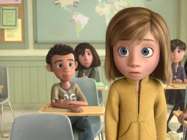 Riley is on her own in Inside Out. There is no villain. Just her and her mind.