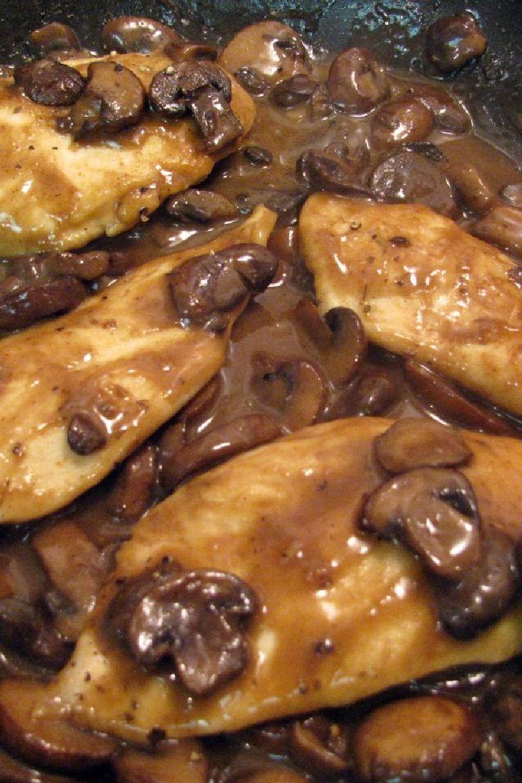 Chicken Marsala #Weight_Watchers #Recipe - #Chicken with Mushrooms in Marsala Wine