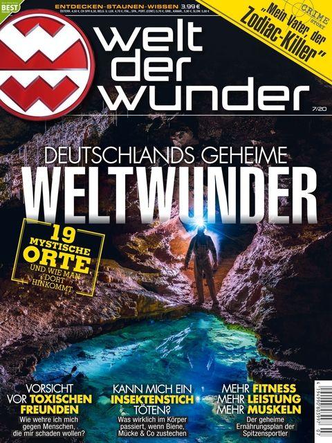 Welt Der Wunder Ausgabe 7 2020 In 2020 Welt Der Wunder Weltwunder Welt