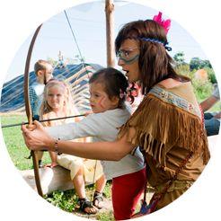 Wioska indiańska - urodziny - plac zabaw - dla dzieci - imprezy - miejsce spotkań