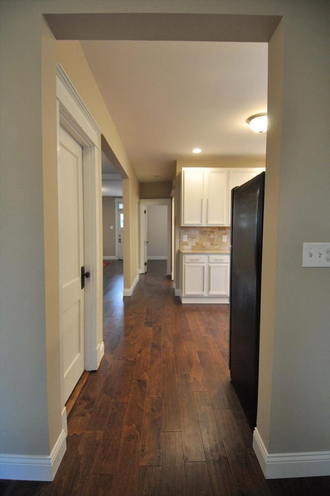 BuildDirect – Engineered Hardwood - Birch Cosmopolitan Trendy Collection – Chestnut - Hallway View