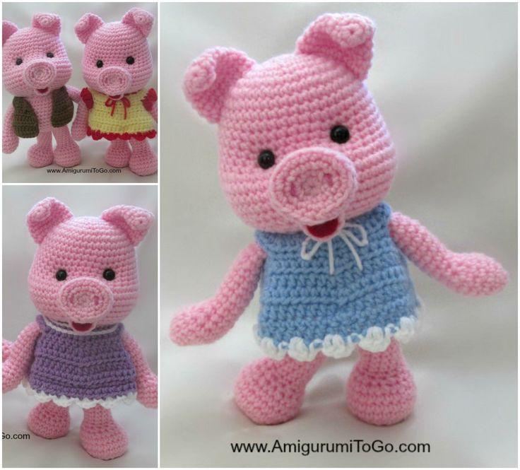 44 besten babi rajut+pola Bilder auf Pinterest   Häkeltiere, Schwein ...