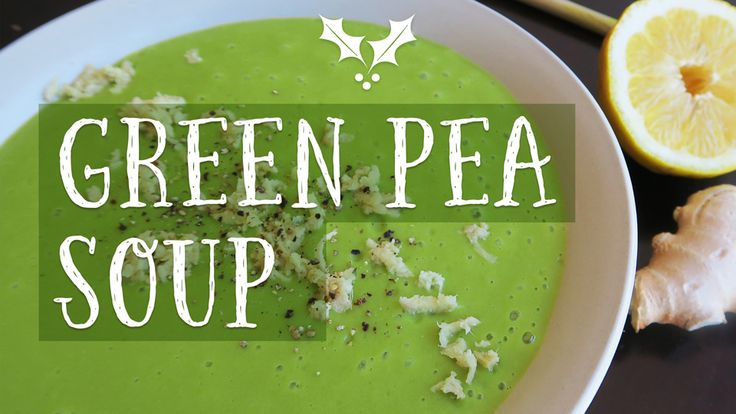Quick & easy green pea soup! This recipe creates a delicious green pea soup without using any dairy-products. This soup is fat-free, highly nutritious and 100% vegan. Watch my green pea soup recipe video - https://youtu.be/Jooe1DJs64g