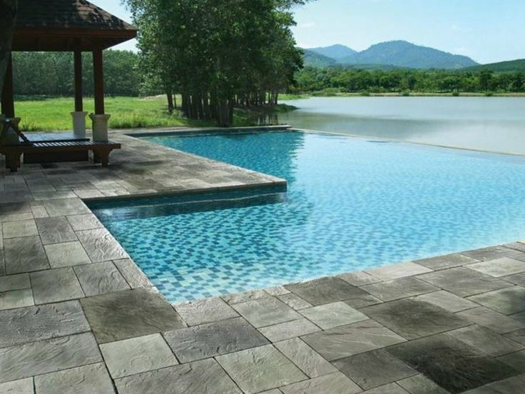 78 best Pooldesign images on Pinterest Garden, House and Small pools - poolumrandungen ideen