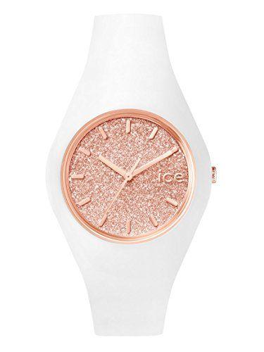 Ice-Watch - ICE.GT.WRG.U.S.15 - Montre Femme - Quartz - Analogique - Bracelet Silicone Blanc ICE-Watch http://www.amazon.fr/dp/B015GM3LIY/ref=cm_sw_r_pi_dp_2g.Hwb04Z22Z3