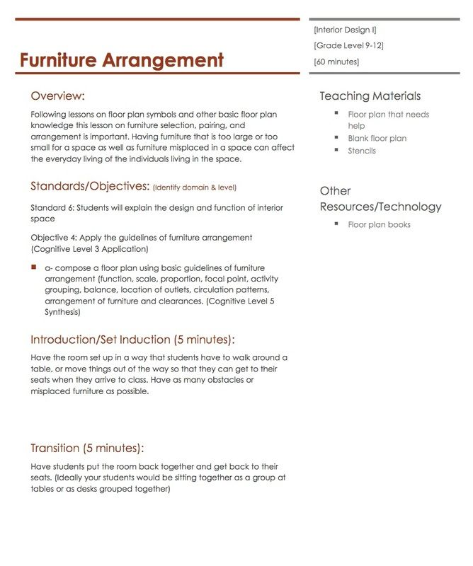 plans rebel art projects forward furniture arrangement lesson plan