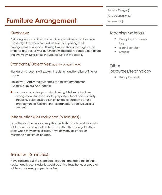 plans rebel art projects forward furniture arrangement lesson plan