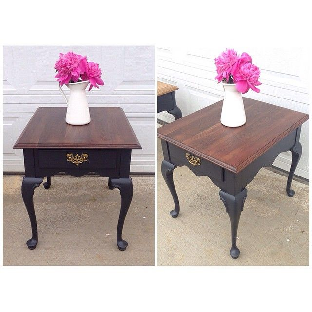 1000 Ideas About Two Tone Table On Pinterest Painting Kitchen Tables Colorful Kitchen Tables