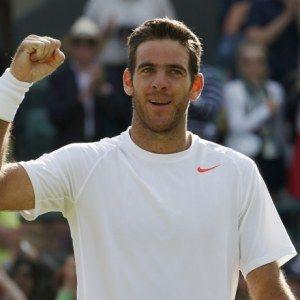Retour du champion del Potro à Wimbledon
