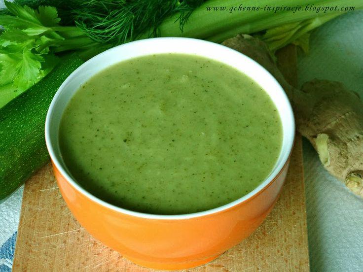 Przepisy FIT: Zielona zupa, którą nazywam zupą zdrowia ! I dlaczego warto grać w zielone krem z zielonych warzyw z brokułów
