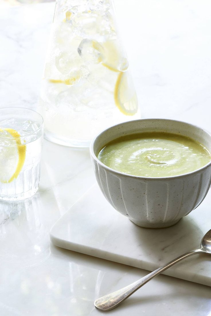 This vegan zucchini and watercress soup from Dr Mark Hyman's 10 Day Detox Diet is rich, creamy, and delicious!