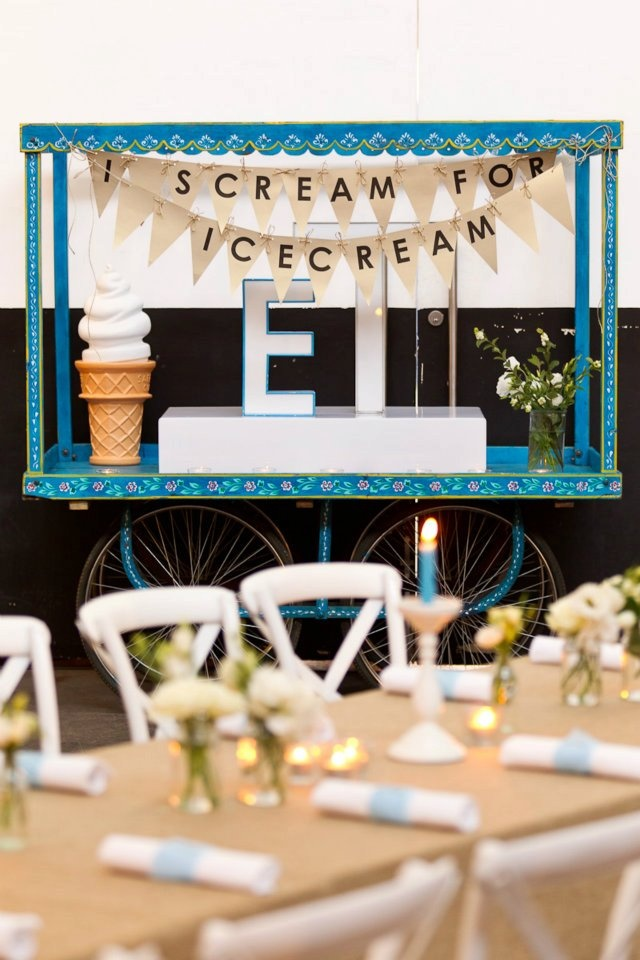 Surprisingly most of the weddings we run choose ice cream as their dessert of choice
