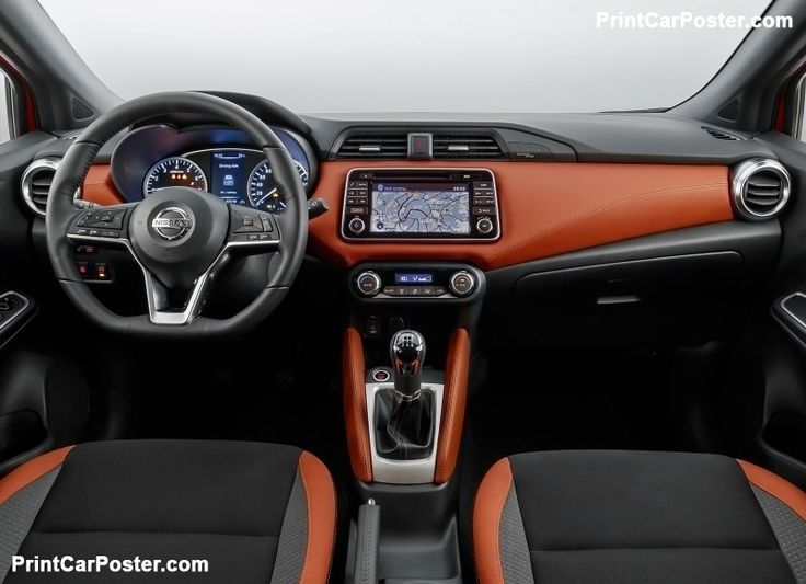 Nissan Micra 2017 poster, #poster, #mousepad