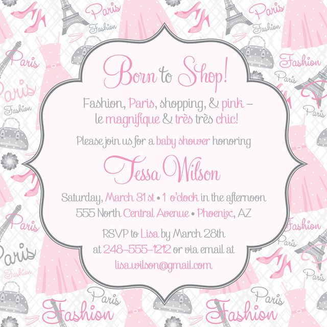 34 best baby shower invitations images on Pinterest Baby girl - baby shower invitation