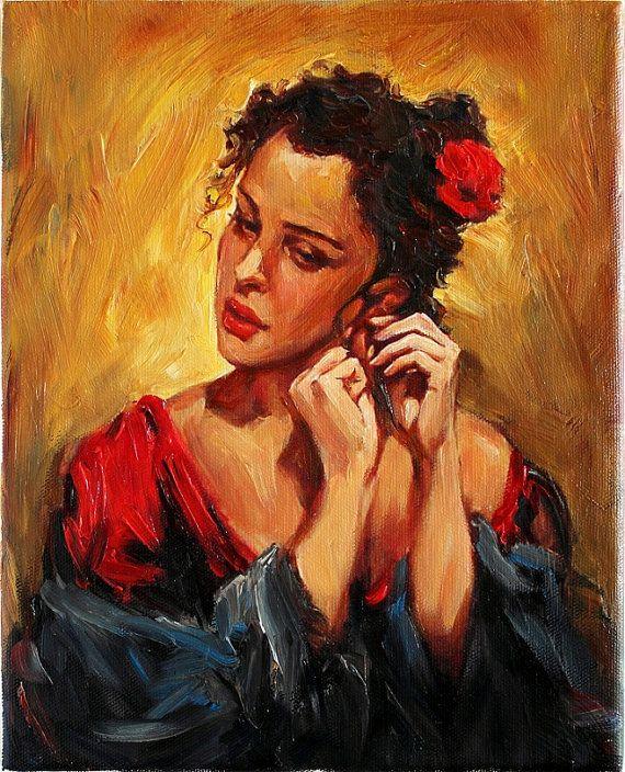 125 best Women in art images on Pinterest | Oil paintings ...