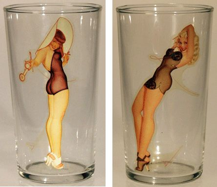 Keyhole Drinking Glasses For Sale