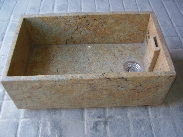 108 best Cool natural stone kitchen sinks in granite marble and