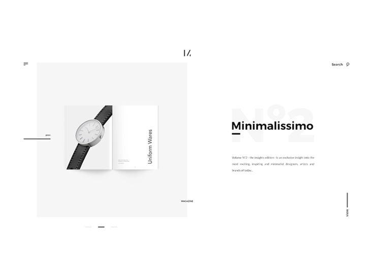 Minimalissimo Website Redesign Case Study by Abhishek