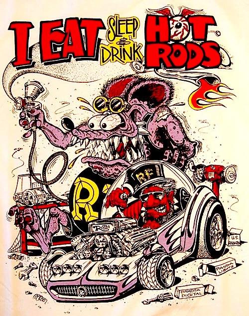 ☮ American Hippie Ed Roth Art ~ Rat Fink