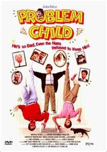 too funny.  the kids just love this movie.  A caring man (the late john ritter) convinces his spoiled wife to adopt a child.  After being duped at the orphanage they wind up with a real bad boy.