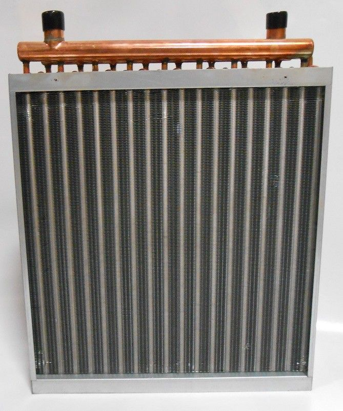 20x20 Water to Air Heat Exchanger Hot Water Coil Outdoor