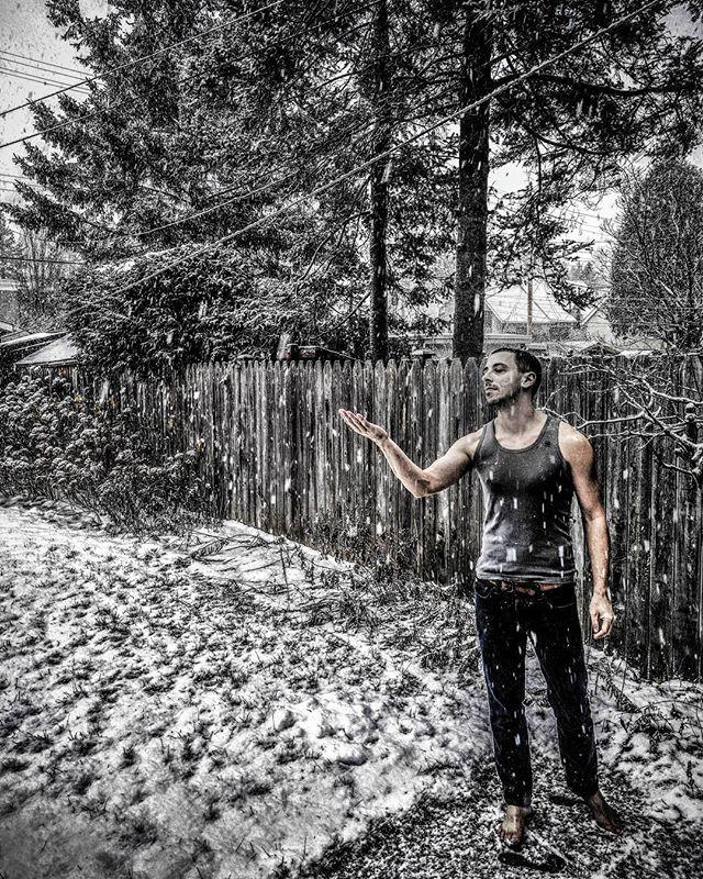 Snow Angel? Lol... #ottawa  #canada #wanderlust  #nature  #snowangel #myottawa #yowottawa #narcityottawa #igersottawa #newedinburgh #instashot #feet #barefoot #garden #grass #park #winter #snow #me #justme #art #artsy #black and white #thegaypassport #gay #gayboy #gaytravel