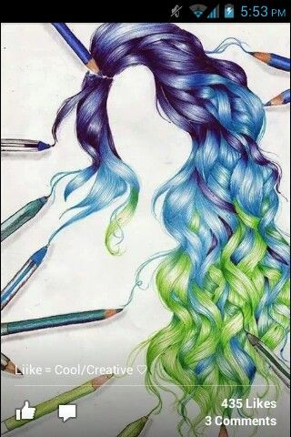 I am not even freaking kidding you this is absolutely gorgeous and I am going to attempt to draw something like this using different colors.